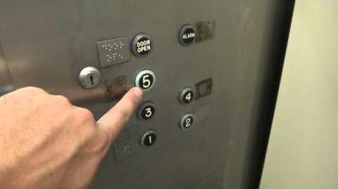 Hydraulic elevator w CJ Anderson fixtures @ Capital Employee Garage Austin TX w Captainelevator42189