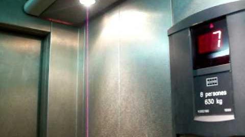 Beautiful 1999 KONE elevator in Andorra