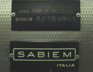 Sabiem Italia Black Version