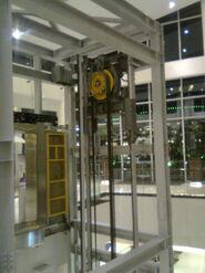 otis machine room less elevator dimensions