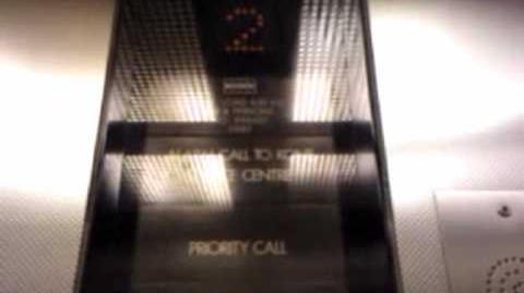 Unusual Kone lift from the 90s
