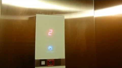 AWESOME Schindler 3300 MRL Traction Elevator @ Falls Church Shopping Center