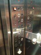 Lift buttons Graha Pena Surabaya