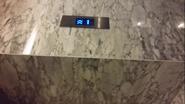 Kone KDS300 Blue Hall Indicator LeMeridienBKK