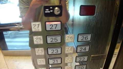 Awesome Schindler Scenic Elevators at 1221 Brickell Center Miami, FL (retake)