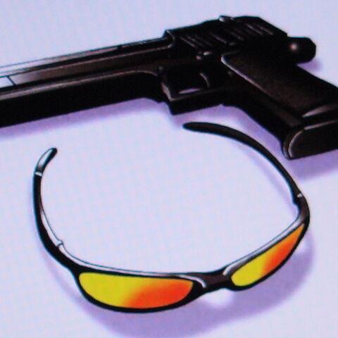 Bando's sunglasses and <a href=