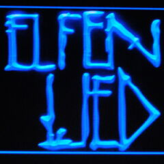 Elfen Lied lighted room sign