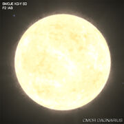 Yellow-White Supergiant (F Class)
