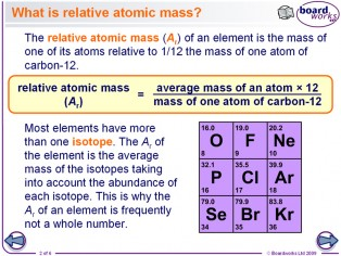Relative Atomic Mass | Ellesmere Chemistry Wiki | Fandom powered ...