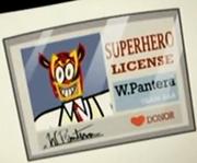 Superhero license