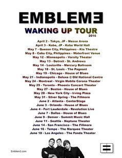 Waking Up Tour