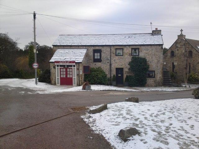 Farrers barn davids shop emmerdale past present wiki for Wallpaper emmerdale home farm
