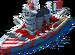 Elite Caio Duilio Battleship