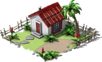 Small White Island Hut