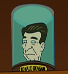 RonaldReagansHead