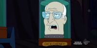Dick Cheney's head