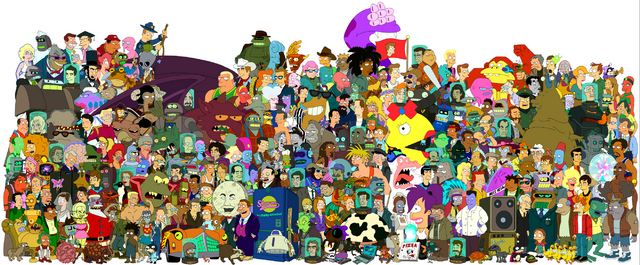File:Futurama-cast.png