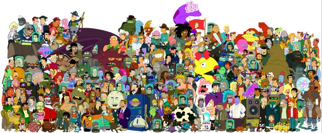 File:Futurama-cast.png