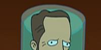 Benjamin Harrison's head