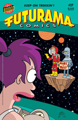 Futurama-27-Cover