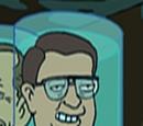 Walter Mondale's head