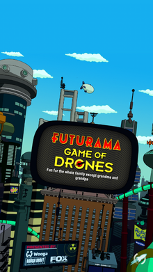 Game of drones title screen