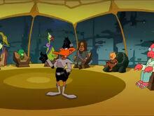 Zoidberg cameo in duck dodgers