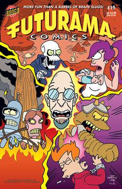 Futurama-19-Cover