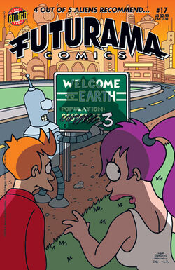 Futurama-17-Cover