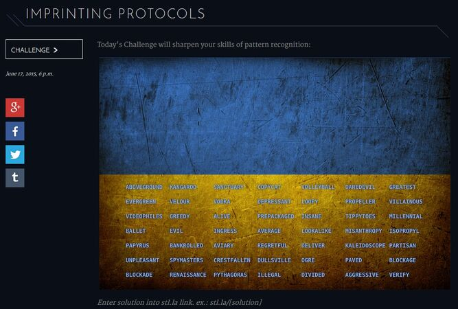 Imprinting-protocols
