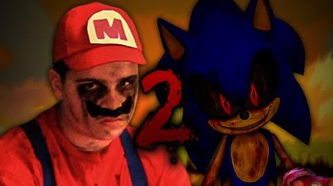 Mario vs sonic exe 2 epic rap battles of creepypasta season 2 1
