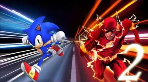 The Flash vs Sonic 2
