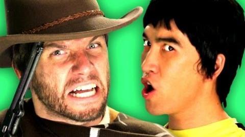 Epic Rap Battles of History - Behind the Scenes - Bruce Lee vs Clint Eastwood