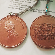 Bill and Ted Medallions