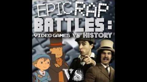 Professor Layton vs Sherlock Holmes. Epic Rap Battles Video Games vs History Season 2