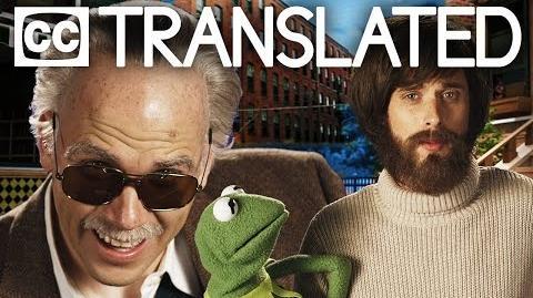 TRANSLATED Jim Henson vs Stan Lee. Epic Rap Battles of History. CC