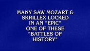 Mozart vs Skrillex Jeopardy