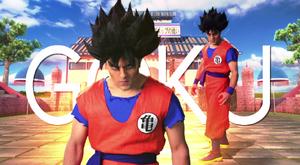 Goku Title Card