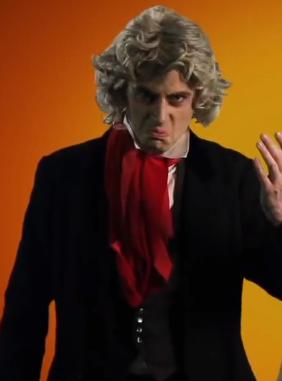 Ludwig van Beethoven Cameo Nice Peter vs EpicLLOYD