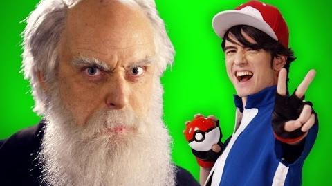 Ash Ketchum vs Charles Darwin - ERB Behind the Scenes