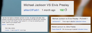 Michael Jackson vs Elvis Presley Suggestion