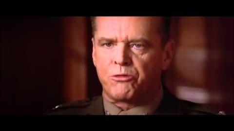 You can't handle the truth! (Jack Nicholson)