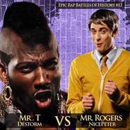 Mr. T vs Mr. Rogers Alternative Cover