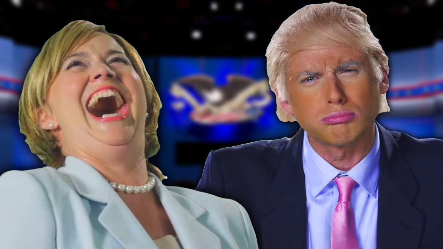 image donald trump vs hillary clinton fanmade thumbnail epic rap battles of. Black Bedroom Furniture Sets. Home Design Ideas