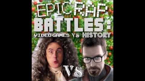 Gordon Freeman vs Isaac Newton. Epic Rap Battles Video Games vs History Season 2