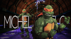 Michelangelo (Turtle) Title Card