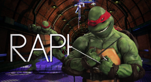 Raphael (Turtle) Title Card