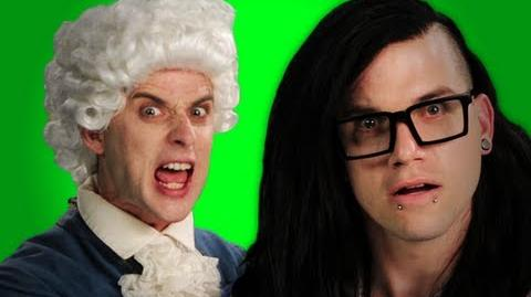 Epic Rap Battles of History - Behind the Scenes - Mozart vs Skrillex