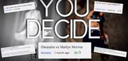 Cleopatra vs Marilyn Monroe Suggestions