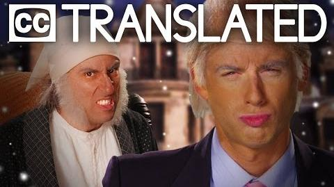 TRANSLATED Donald Trump vs Ebenezer Scrooge. Epic Rap Battles of History